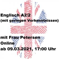 Englisch A2/2 Online