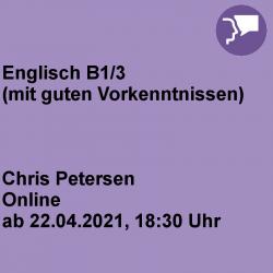 Englisch B1/3 Online-Kurs