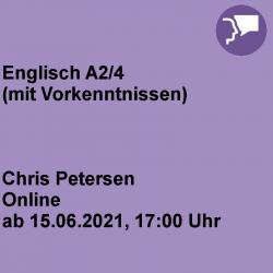 Englisch A2/4 Online-Kurs