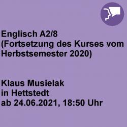 Englisch A2/8 Hettstedt