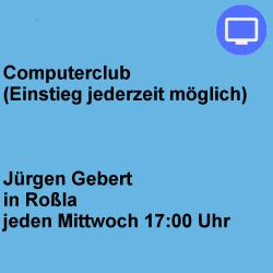 Computerclub Mittwoch Roßla