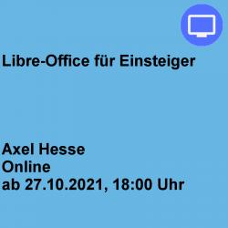 Libre-Office für Einsteiger...