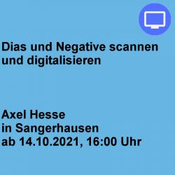 Dias und Negative scannen...