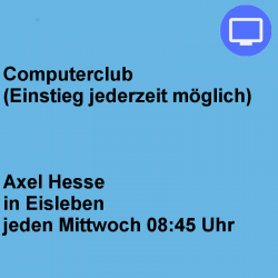 Computerclub Mittwoch Eisleben