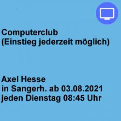 Computerclub Dienstag...