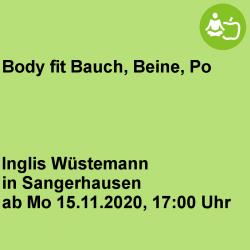 Body fit Bauch, Beine, Po