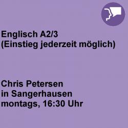 Englisch A2/3 Sangerhausen