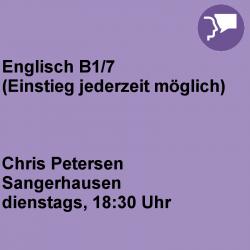 Englisch B1/7 Sangerhausen