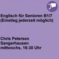 Englisch für Senioren B1/7...