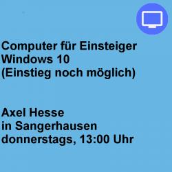 Computer für Einsteiger...