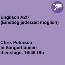 Englisch A2/7 Sangerhausen