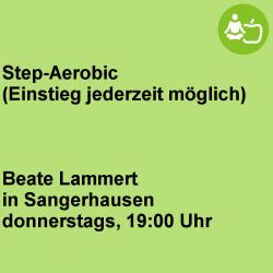 Step-Aerobic  Sangerhausen