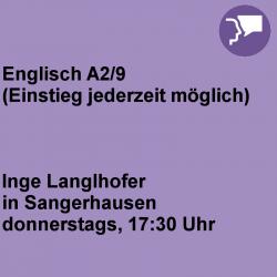 Englisch A2/9 Sangerhausen